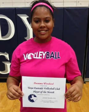 Breanna Woodard - December's Athlete of the Month